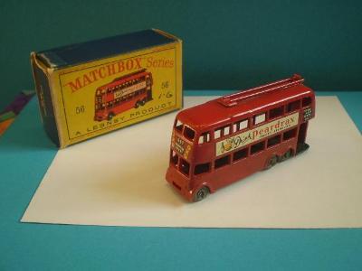 MATCHBOX - RW 56a LONDON TROLLEYBUS