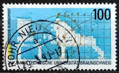 BUNDESPOST: MiNr.1783 Technical University, Braunschweig 100pf 1995