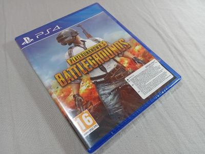 PS4 Playerunknown´s battlegrounds - nová!!!