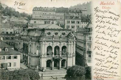 Karlsbad - Theater (Karlovy Vary) ..
