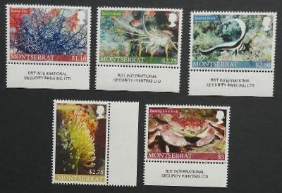 Montserrat 2010 Mi.1497-1 12€ Mořská fauna, korály, krabi, ryby
