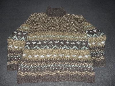 Dámský svetr, velikost cca 44