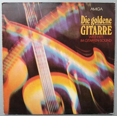 LP - DESKA - VINYL - Die goldene GITARRE - 1980 - AMIGA