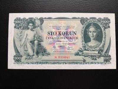 100 korun 1931,neperforovana jednopismenkova serie N,krasny stav !!