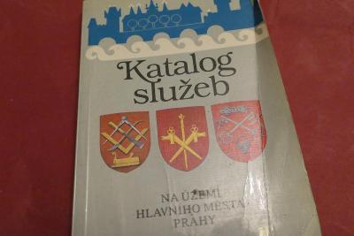 Katalog služeb na území hl. města Prahy - 1985 retro, adresy prodejen
