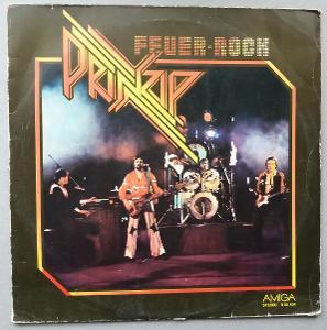 LP - DESKA - VINYL - PRINZIP - FEUER ROCK - 1978 - AWA - AMIGA
