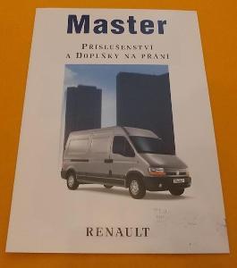 RENAULT Master 2 - originální český prospekt doplňků   #