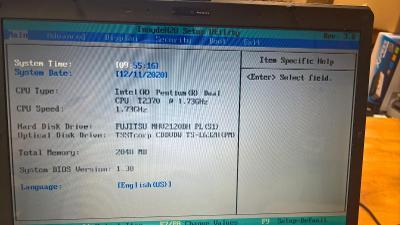 Výkonný notebook Toshiba Satellite L350, WIN7 Ult., funkční od 1,- Kč