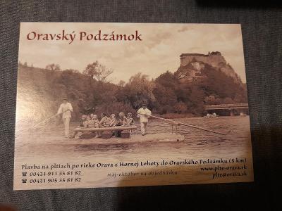 Pohlednice-Oravský Podzámok