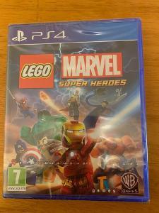 LEGO MARVEL SUPER HEROES - PS4 - PLAYSTATION 4 - NOVÁ - ZABALENÁ