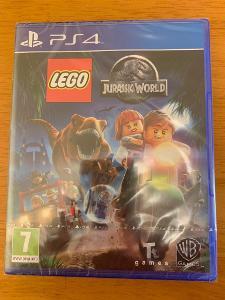 LEGO JURASSIC WORLD - PS4 - PLAYSTATION 4 - NOVÁ - ZABALENÁ