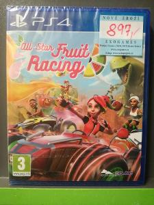 All-Star Fruit Racing (PS4) - NOVÁ