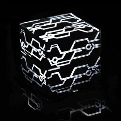 NieR Automata - svítící lampa / kostka