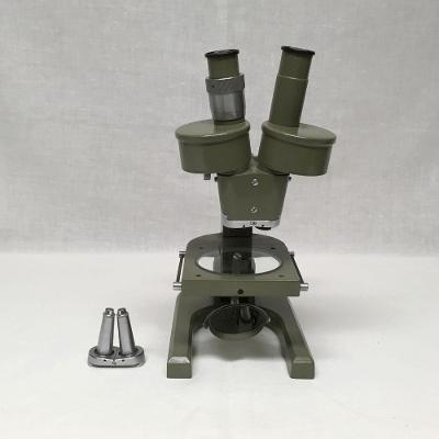Mikroskop Binolupa Meopta, kompletná s príslušenstvom a zrkadlom