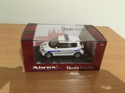 ABREX 1:43 Škoda Fabia II (2006)– Celní Správa