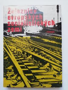 Železnice evropských socialistických zemí - NADAS - 1977