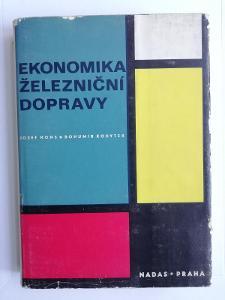 Ekomonmika železniční dopravy - 1972 - Hons Kodytek