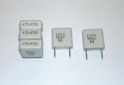 Elektro součástky kondenzátor 470nF 100V - sada 5ks