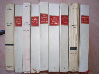 JALNA 1-9 - MAZO DE LA ROCHE - CYKLUS JALNY - 1934-1948