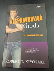 Kniha - Nespravodlivá výhoda R. T. Kiyosaki 2012/307 str... (12696)
