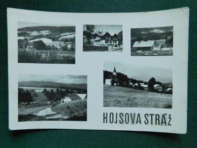 Hojsova stráž - okres Klatovy / roh (velký formát)
