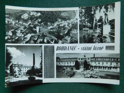 Bohdaneč - Státní Lázně - okres Kutná Hora (velký formát)