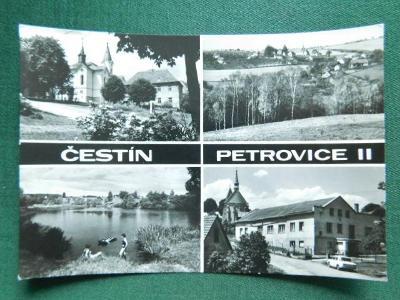 Čestín - Petrovice II - okres Kutná hora (velký formát)
