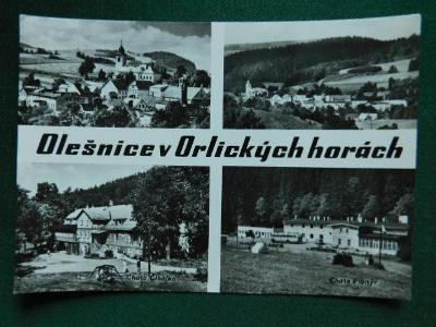 Olešnice v Orlických horách - okres Rychnov nad Kněžn ( velký formát )