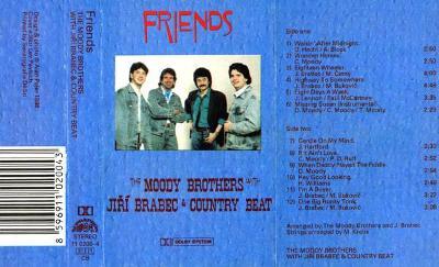 Audio Kazeta COUNTRY BEAT Jiři BRABEC & MOODY BROTHERS Friends 88 RAKS