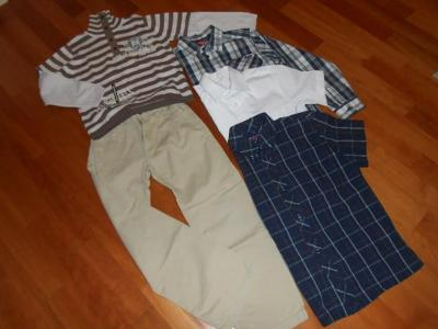 Balík 5ks oblečení pro fešáka 122-134