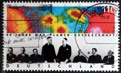 DEUTSCHLAND: MiNr.1973 Founding Meeting in Göttingen 110pf 1998