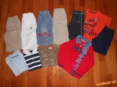 Letní balík 10ks oblečení pro kluka 116-122