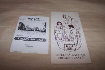 TEPLÁ U MARIÁNSKÝCH LÁZNÍ 800 LET KANONIE PREMONSTRÁTŮ 1990/93/B166/