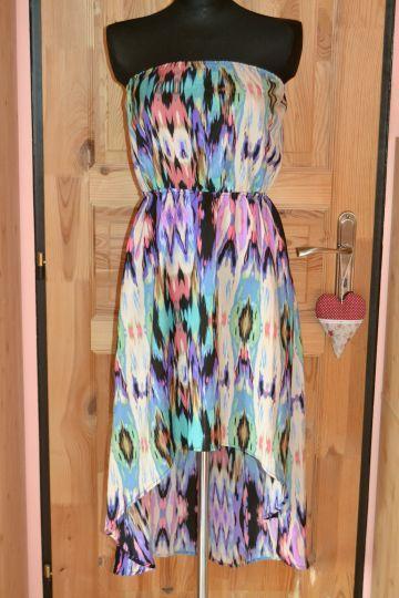 Pěkné vzorované šaty Gate Woman, vel. M