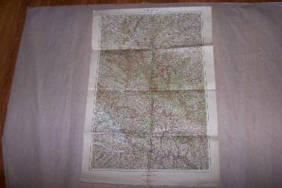 MAPA KLATOVY   r.1927  cca 63 x 43/B166/