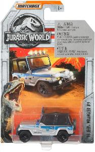 Jeep Wrangler JURASSIC WORLD Matchbox  - NOVÉ