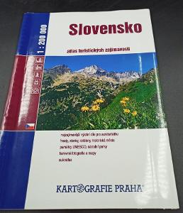 Kniha - Slovensko/Atlas turistických zajímavostí 2006/117 str..(12714)