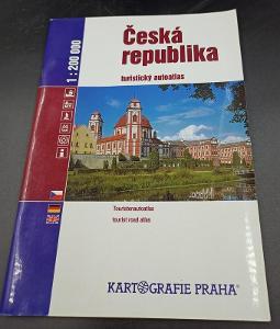 Kniha - Česká republika/Turistický atlas 2003/92 str...(12715)