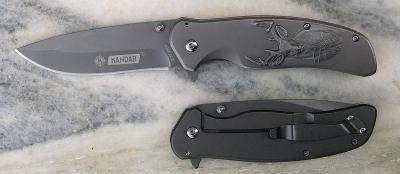 Celokovový zavírací nůž Kandar jelen