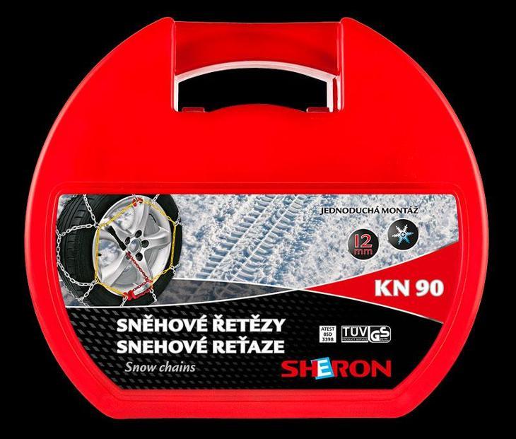 SHERON Sněhové řetězy KN90  - Náhradní díly a příslušenství pro osobní vozidla