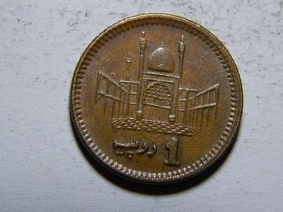 Pakistan 1 Rupee 2002 XF č20253