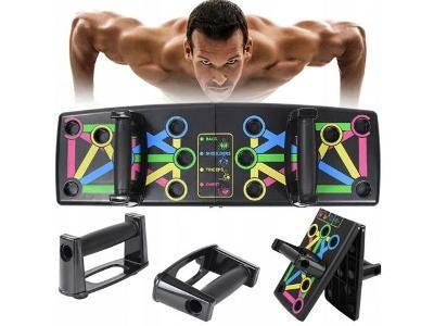 Multifunkční cvičební deska lavice pro cvičení fitness + dárek