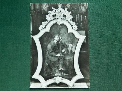 Mníšek pod Brdy, Obraz sv. Františka od Jana Škréty ( velký formát )