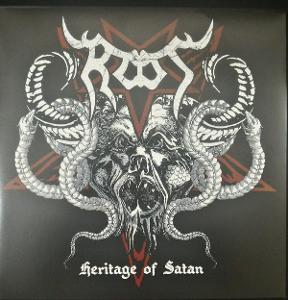 ROOT - Heritage of Satan LP MEGA RARE LIMITED 100 RED vinyl
