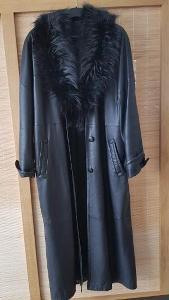 Luxusní kožený kabát