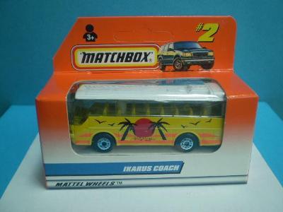 MATCHBOX - 2 IKARUS COACH - EVROPA- 1997 - NEOTEVŘENÝ