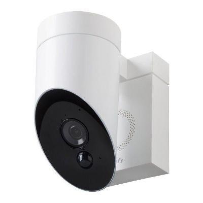 Venkovní kamera s integrovanou sirénou SOMFY 1870396 Full HD, bílá