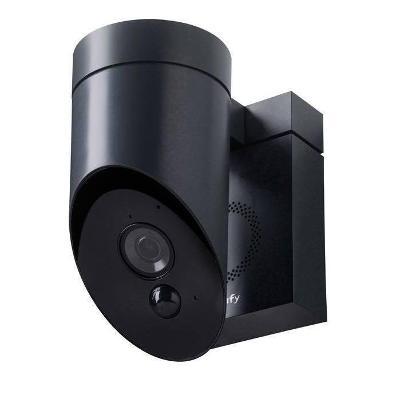 Venkovní kamera s integrovanou sirénou SOMFY 1870397 Full HD, černá