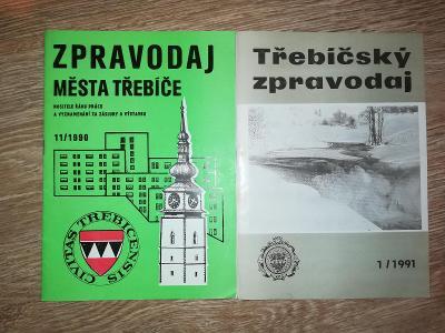 Zpravodaj města Třebíče/ Třebíčský zpravodaj, 2 ks