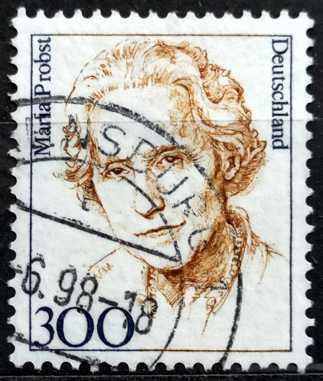 DEUTSCHLAND: MiNr.1956 Maria Probst 300pf Famous Women of Germany 1997